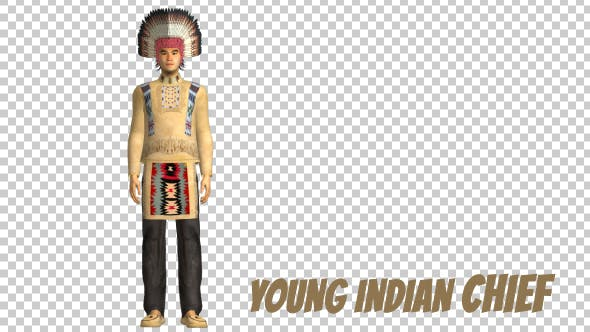 Thumbnail for Native American Young Chief