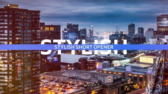 Thumbnail for Stylish Short Opener