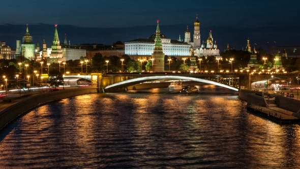 Thumbnail for Night View To the Kremlin
