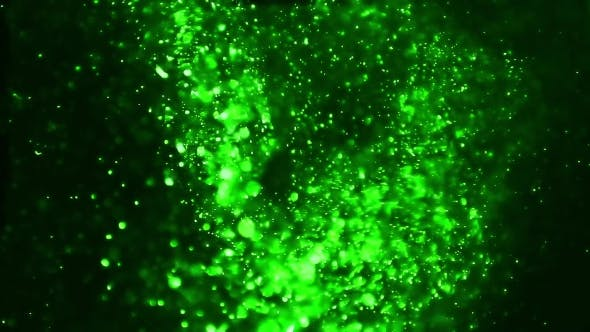 Thumbnail for Green Magic Particles