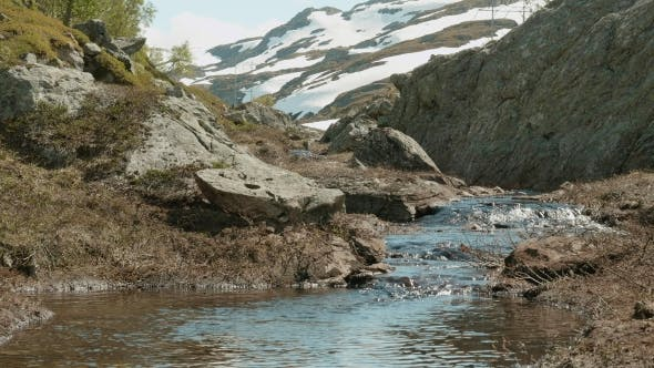 Thumbnail for River in the Norwegian Mountains