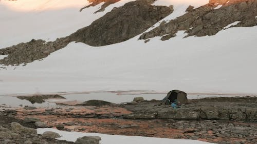 Camping in the Norwegian Mountains