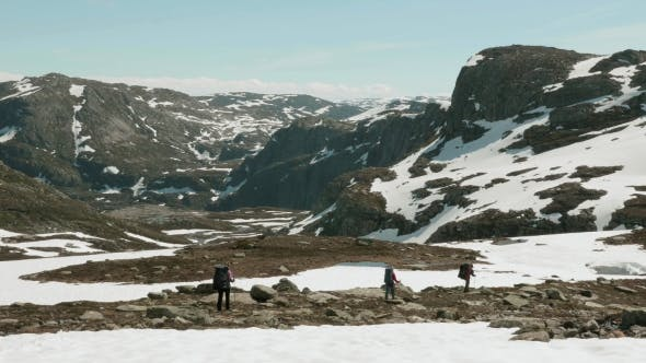 Thumbnail for Hiking in the Mountains