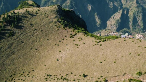 Thumbnail for Aerial View of the Countryside in Mountains