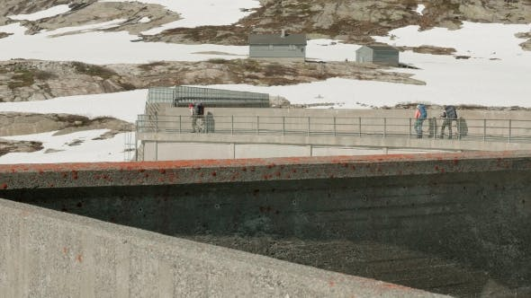 Thumbnail for Walking on the Dam