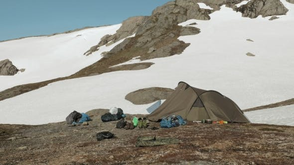 Thumbnail for Tent in the Snowy Mountains