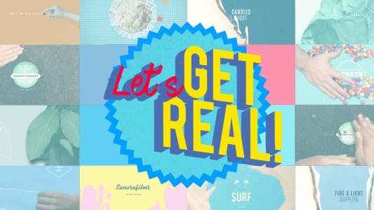 Thumbnail for Get Real Logo Bundle