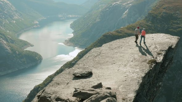 Thumbnail for On the Trolltunga in the Norway