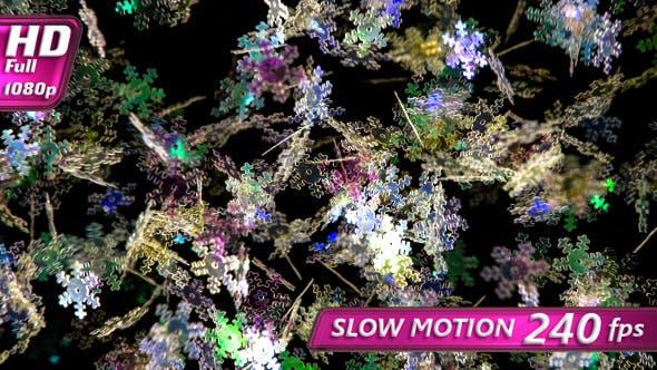 Thumbnail for Festive Neon Snowfall
