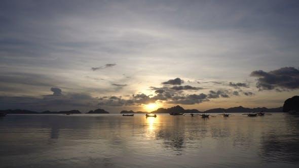 Thumbnail for Beautiful Sunset Over Sea
