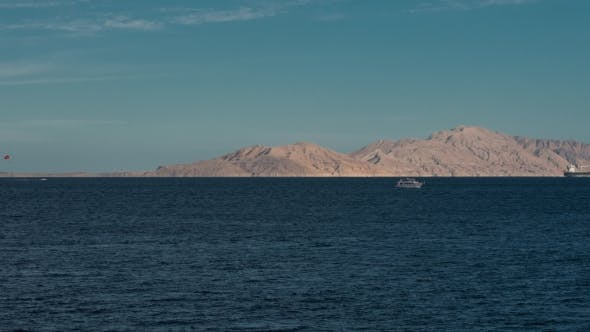 Thumbnail for Beautiful Evening Landscape of Red Sea