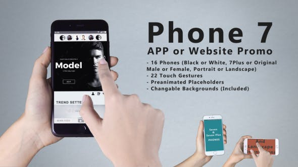 Thumbnail for Smartphone 7 App Promo