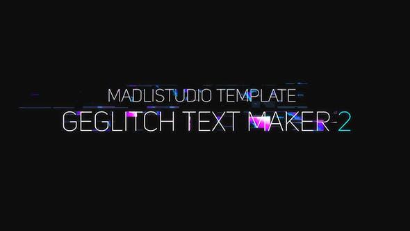 Thumbnail for Creador de Texto Ge Glitch 2