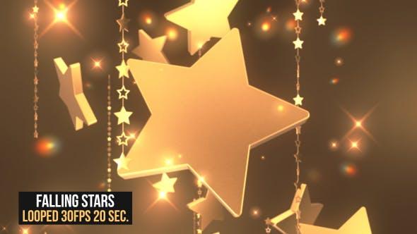 Thumbnail for Falling Stars Background