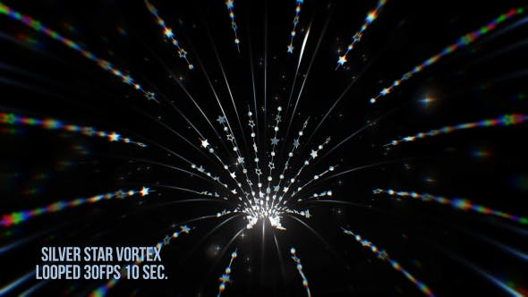 Thumbnail for Silver Star Vortex Background