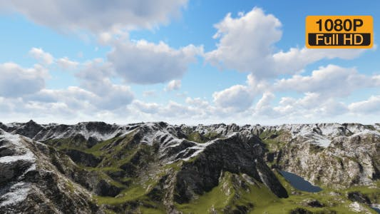 Thumbnail for Mountain and Clouds