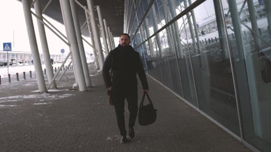 Thumbnail for Lawyer Man at Airport