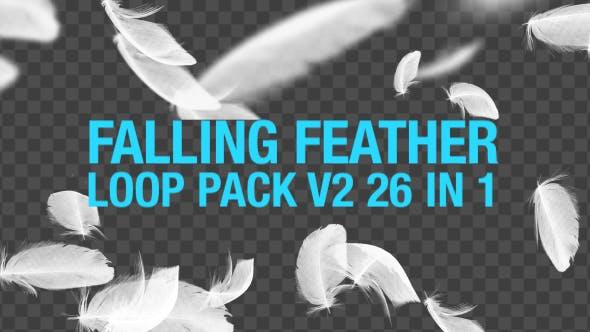Thumbnail for Fallende Federn Pack V2 26 in 1