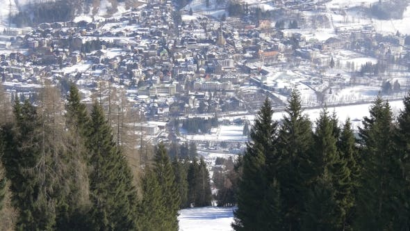 Thumbnail for Township in the Alps