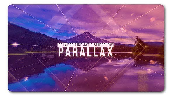Thumbnail for Squares Cinematic Parallax Slideshow