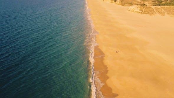 Thumbnail for Aerial View Above Ocean Beach