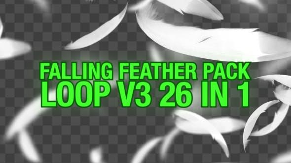 Thumbnail for Fallende Federn Pack V3 26 in 1