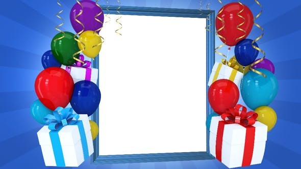 Thumbnail for Happy Birthday Frame