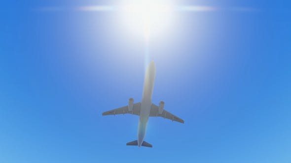Thumbnail for Plane Takes Off - Under the Sun