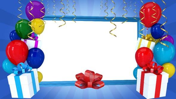 Thumbnail for Happy Birthday Frame 2