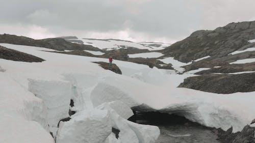 River Under Snow. Norway
