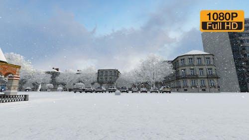 Snowy City Centre