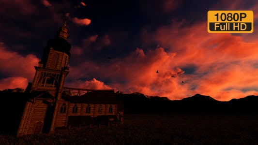 Thumbnail for Church and Mountain