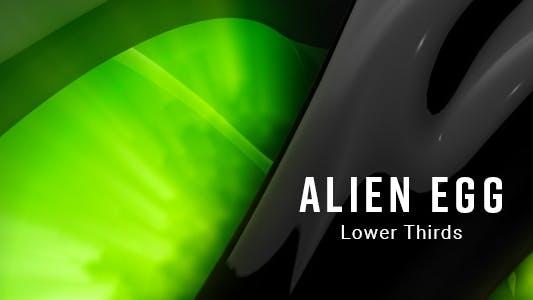 Thumbnail for Alien Egg Lower Thirds