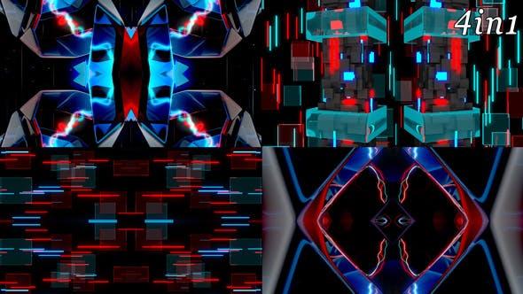 Thumbnail for X Factor - VJ Loop Pack (4in1)