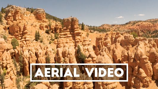 Thumbnail for Aerial Video of Red Canyon Utah