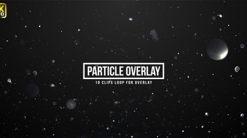 Particle Sparkling Overlays
