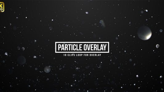 Thumbnail for Particle Sparkling Overlays