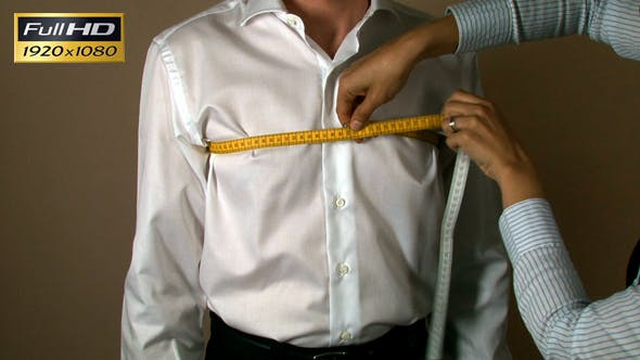 Thumbnail for Tailor Chest Man Body Measuring