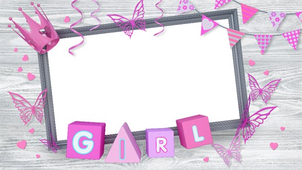 Thumbnail for Holiday Girls Frame