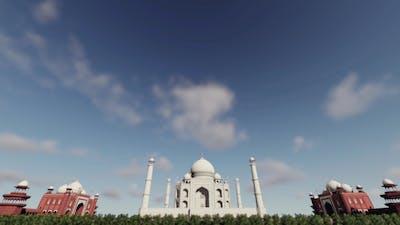 3D Taj Mahal - India
