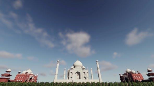 Thumbnail for 3D Taj Mahal - India