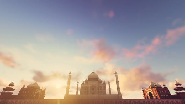 Thumbnail for Taj Mahal, Agra, India Timelapse