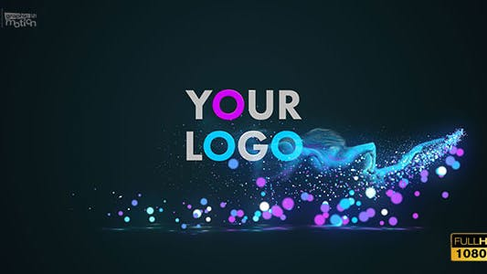 Thumbnail for Glow Particles Logo