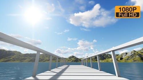 Brücke und Meer