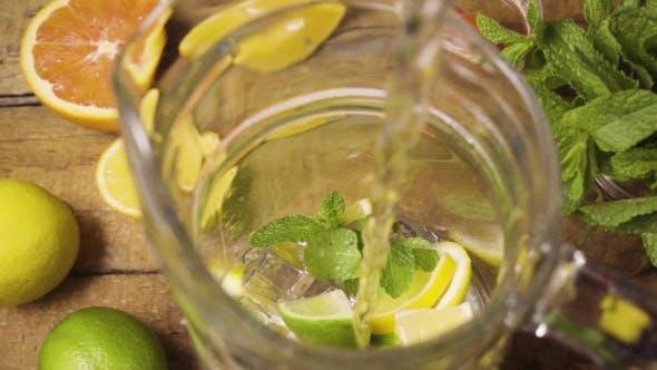 Made Lemonade in the Carafe