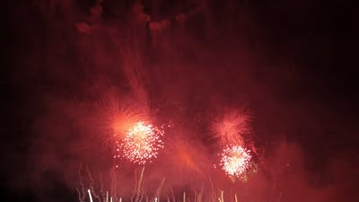 The Event with Fireworks