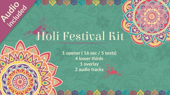 Thumbnail for Holi Festival of Colors Kit