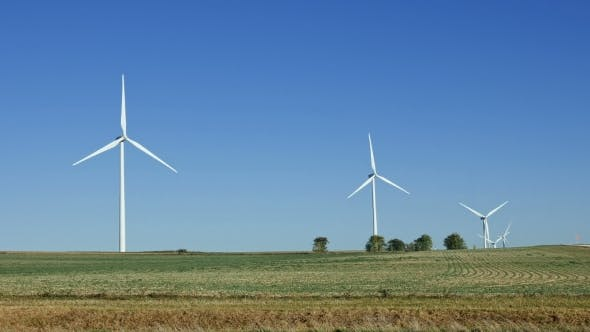 Thumbnail for Wind Turbines Renewable Energy Generation
