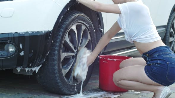 Thumbnail for She Washes the Wheel