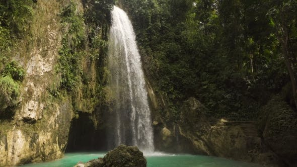 Thumbnail for Beautiful Tropical Waterfall. Philippines Cebu Island